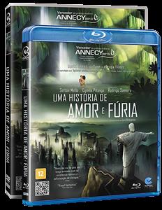 Uma História de Amor e Fúria - Blu-ray e DVD