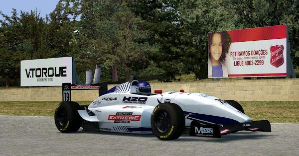 Pintura da 1ª equipe da H2O para o Fórmula XR é apresentado Lfs_00000515