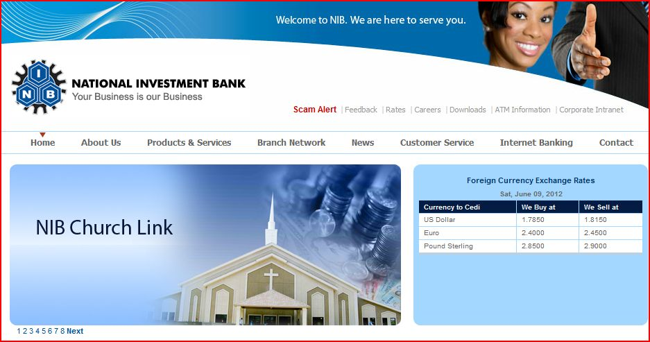 bank ghana hacked by rwandan hackers national investment bank ghana ...