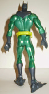 Back of 2003 Hydro Suit Batman action figure from Mattel