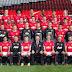 Falcao ya posó en la foto oficial del Manchester United para la temporada 2014-15