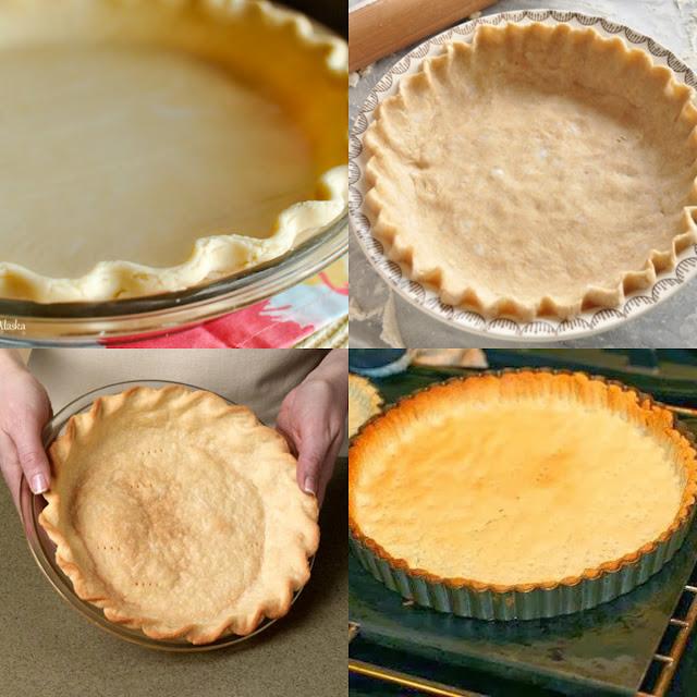 طريقة عمل عجينة الفطائر لمختلف الحشوات Pie Crust