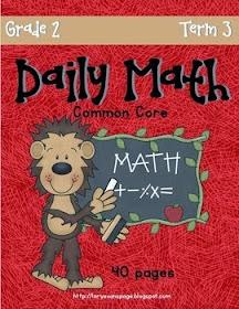 Daily Math Term 3