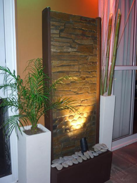 Fuentes paredes agua - Fuente decoracion interior ...