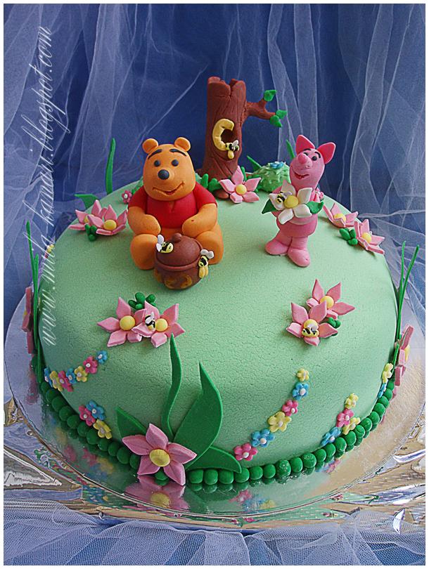 Украшения на детский торт из мастики своими руками фото