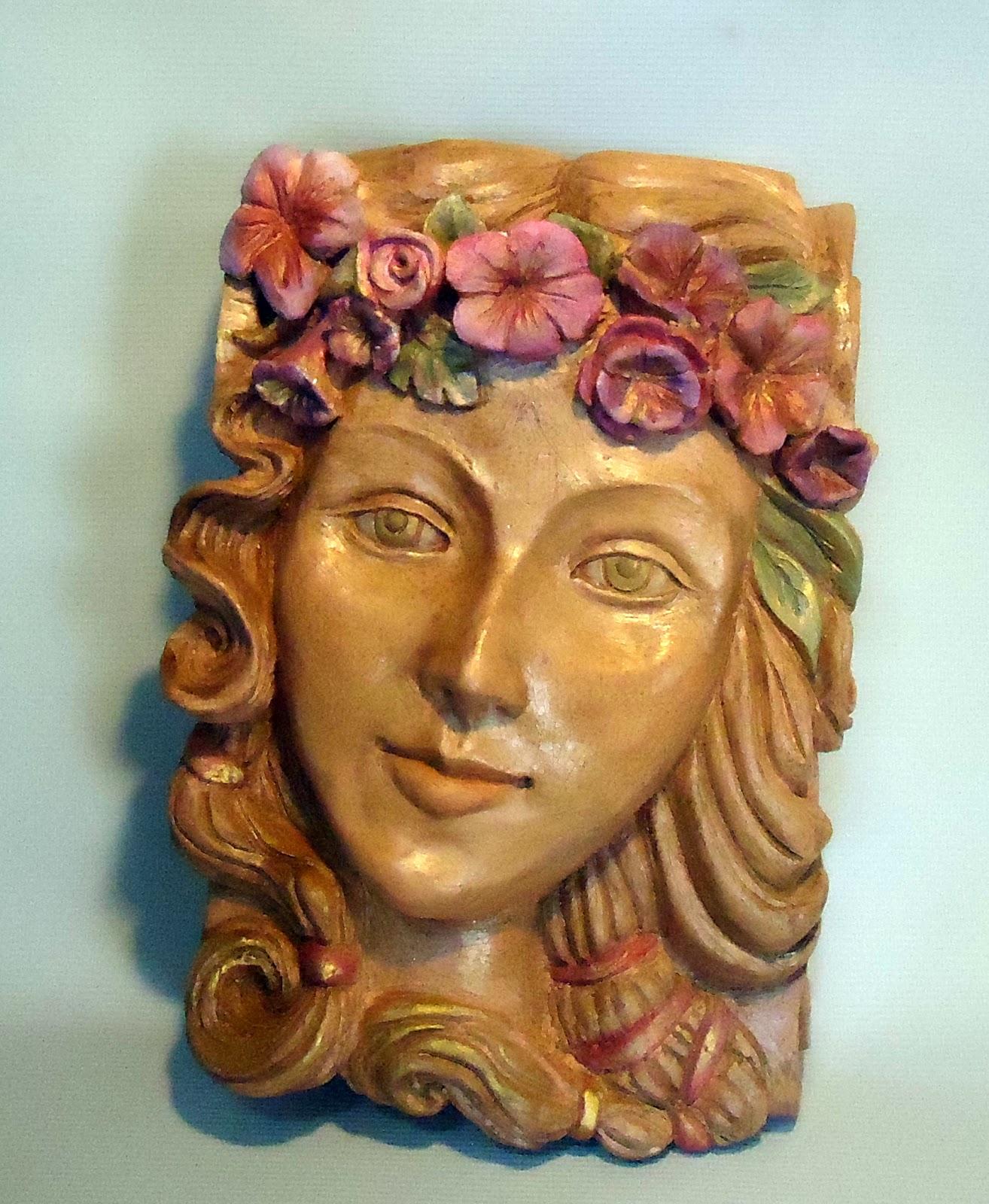 Ariadne escultura em terracota for Ariadne artiles listal
