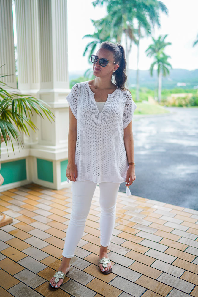 All White Resort Wear With Lilly Pulitzer New York City