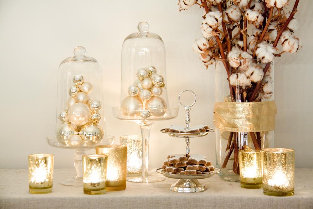 decoracao festa reveillon:Chez Grammont: Mesas de Natal
