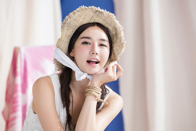1 Han Ga Eun - Freckled Cutie - very cute asian girl-girlcute4u.blogspot.com