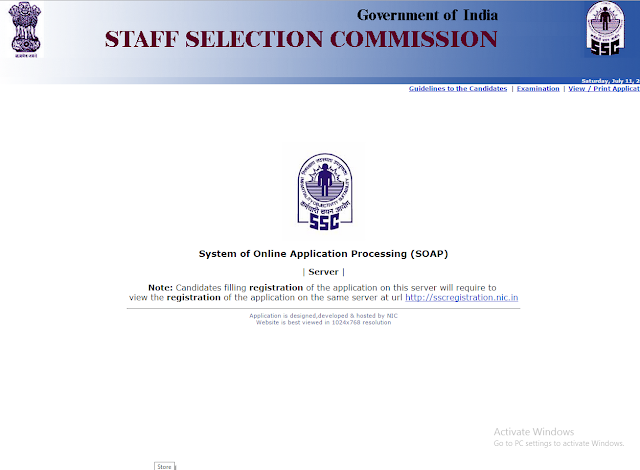 SSC CHSL Date Extension 2015
