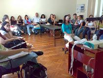 Alunos da pós-graduação [exame otoneurológico ao vivo-aula prática]!!!!