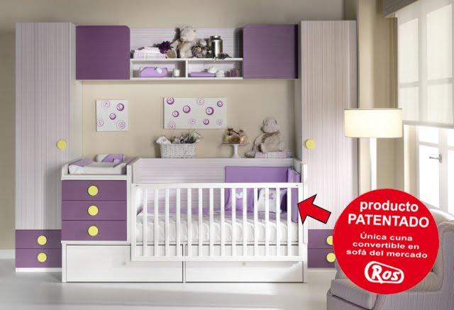 Habitaciones para bebes habitaciones infantiles - Habitacion convertible bebe ...