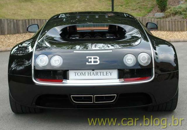 Bugatti Veyron Super Sports - traseira