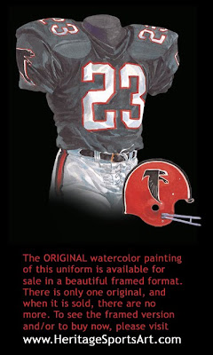Atlanta Falcons 1966 uniform
