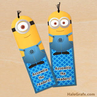 Minion-bookmarks