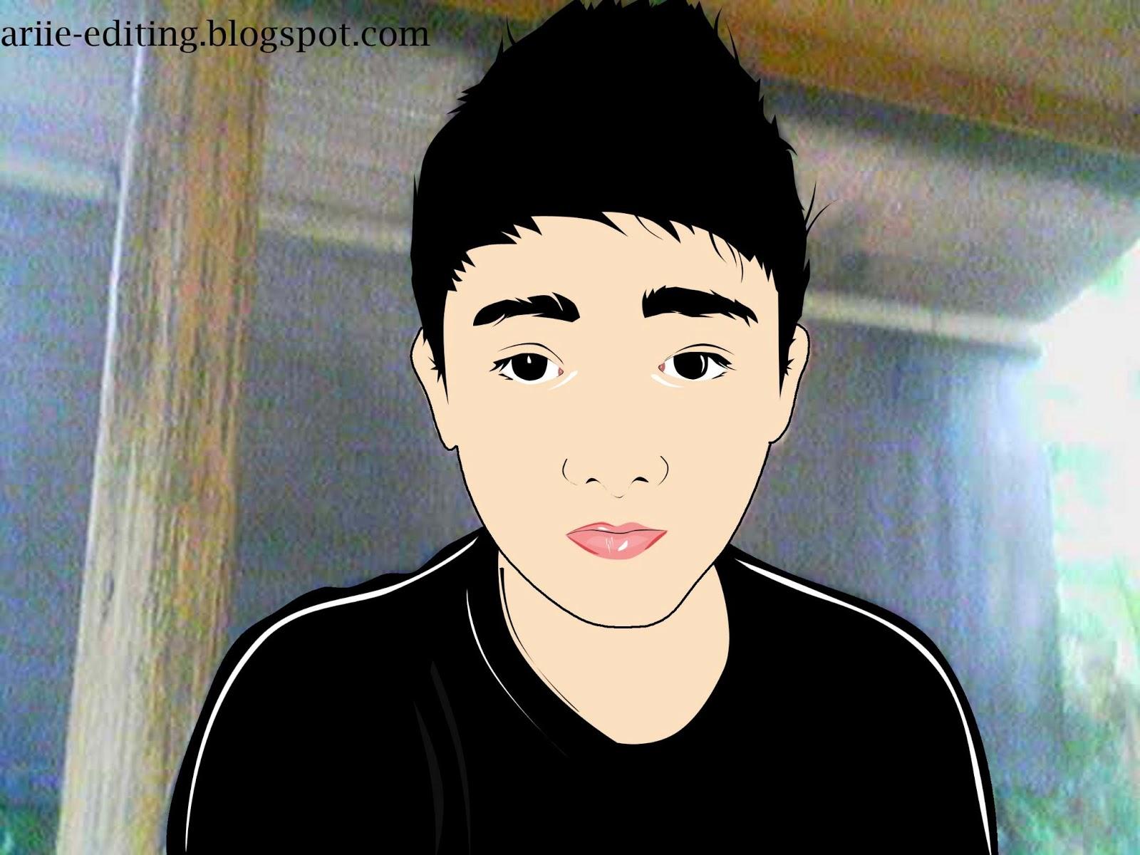 ae cara edit foto menjadi kartun dengan adobe photoshop cs3