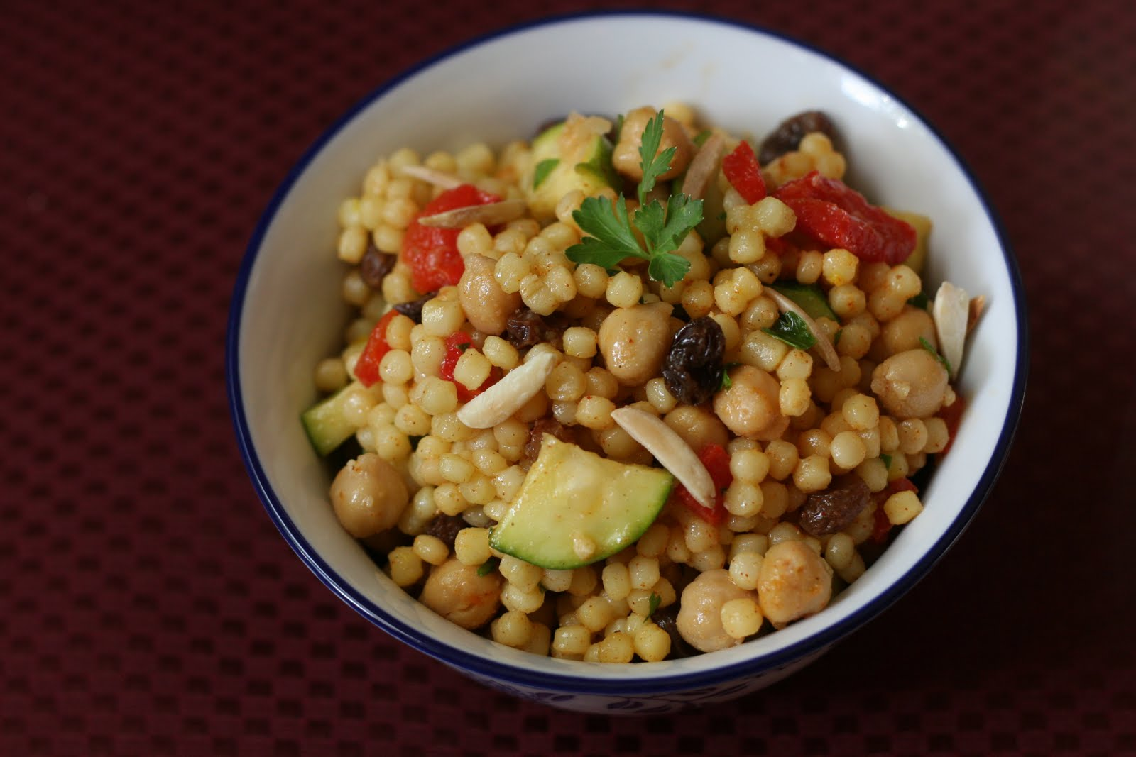 ... Ordinary Vegetarian: Moroccan Couscous Salad with Saffron and Cinnamon