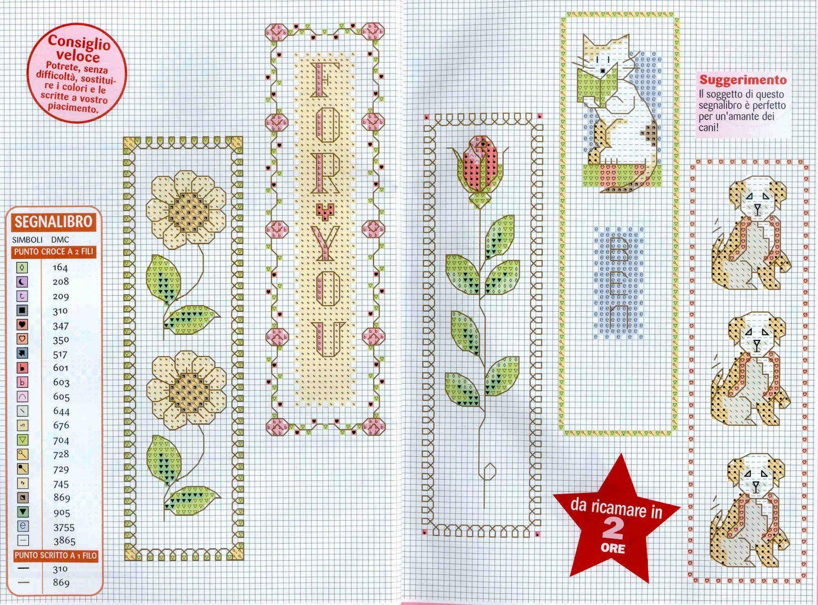 Закладки, бискорню и т.п. - Каталог схем для вышивки крестом 19