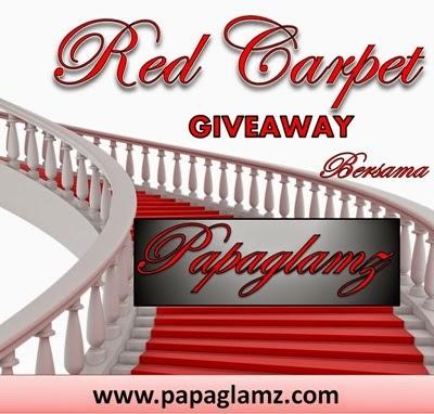 RED CARPET GIVEAWAY BERSAMA PAPAGLAMZ