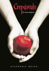 Portada española de Crepúsculo, de Stephenie Meyer