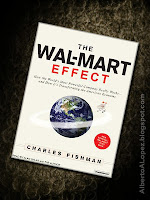 "Beauty shot picture of book by Charles Fishman, ""The Wal-Mart Effect"", ""How the World's Most Powerful Company Really Works—and How It's Transforming the American Economy"""