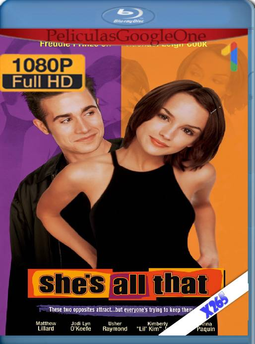 She's All That (1999) x265 [1080p] [Latino] [GoogleDrive]