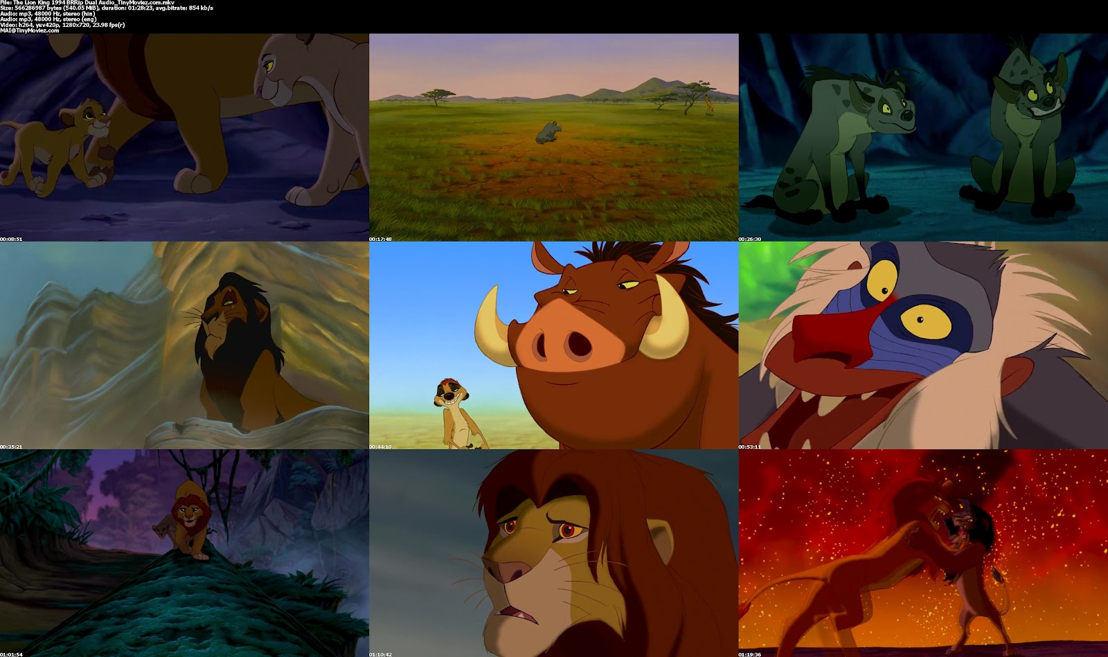 the lion king 1994 brrip dual audio 500mb