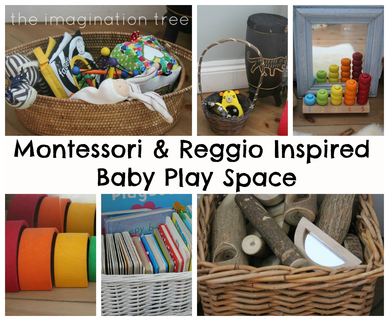Baby Place Space for 6 18 Months Inspired by Montessori and