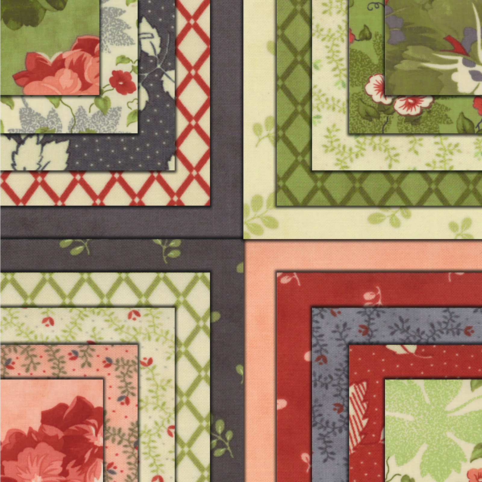 Moda FRONT PORCH Quilt Fabric by Jan Patek Quilts