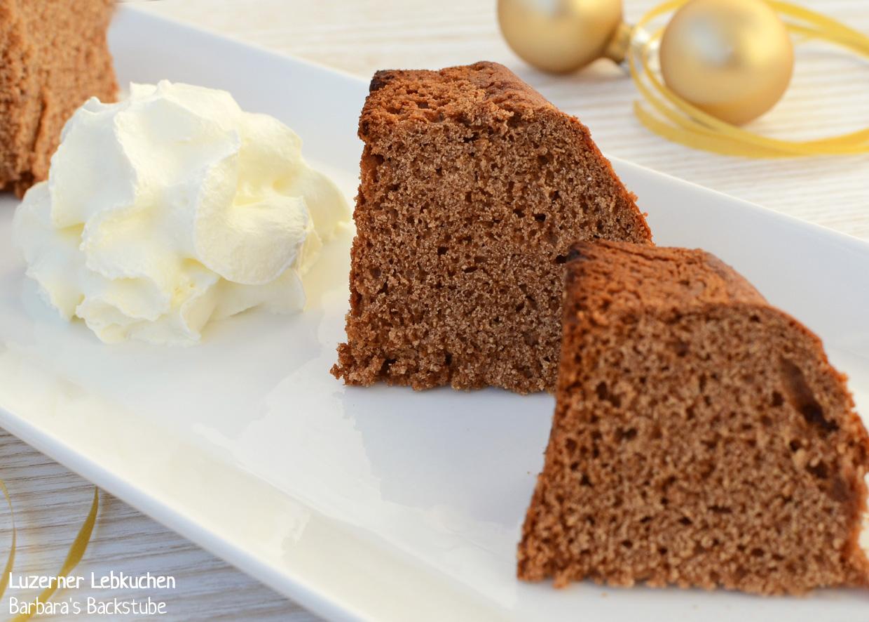 Barbara\'s Backstube: Luzerner Lebkuchen