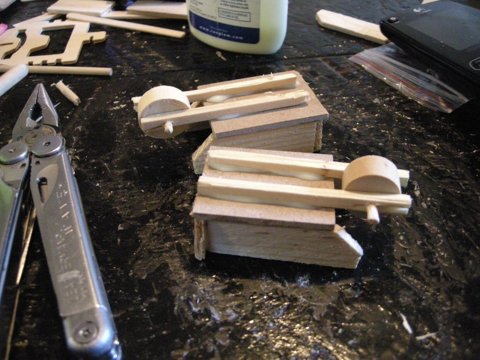 Any How Town Building A Popsicle Stick Wheelbarrow