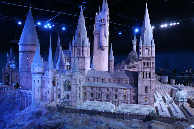 A picture of the Hogwarts model used in all Harry Potter films