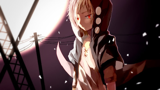 red eyes kagerou project kano shuuya vocaloid anime hd wallpaper