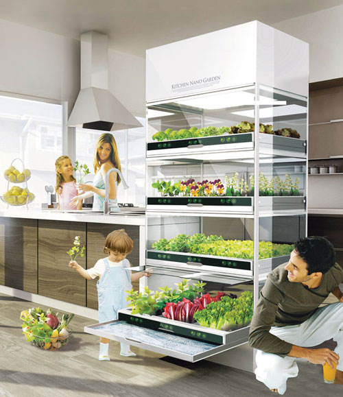 It Is Apparently The Kitchen Gadget Of All Kitchen Gadgets. A Fully Self  Contained Kitchen Sized Greenhouse, With Full Spectrum Lighting And Built  In ...