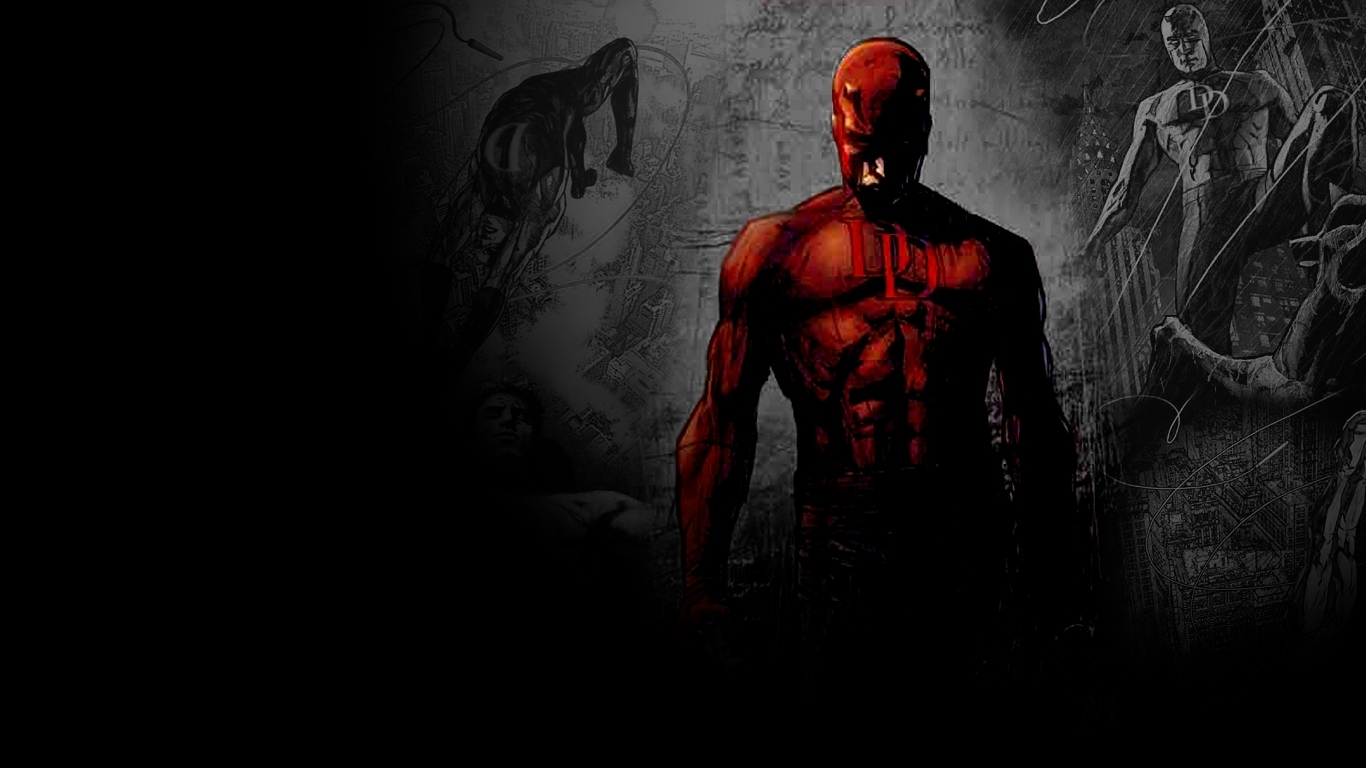 rendered beauty daredevil comic wallpaper