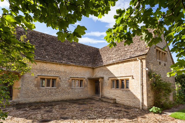 Kelmscott village hall built in memory to William Morris by Martyn Ferry Photography