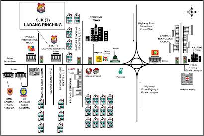Map SJK (T) Ladang Rinching
