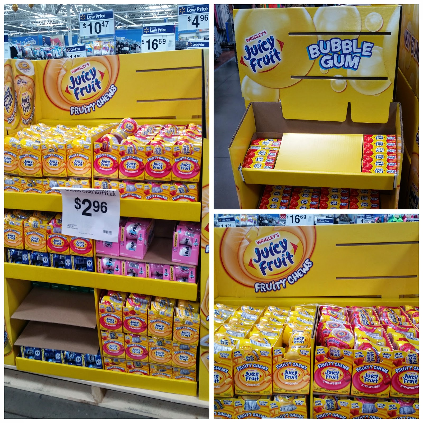 Juicy Fruit Fruity Chews available at Walmart #JuicyFruitFunSide #CollectiveBias