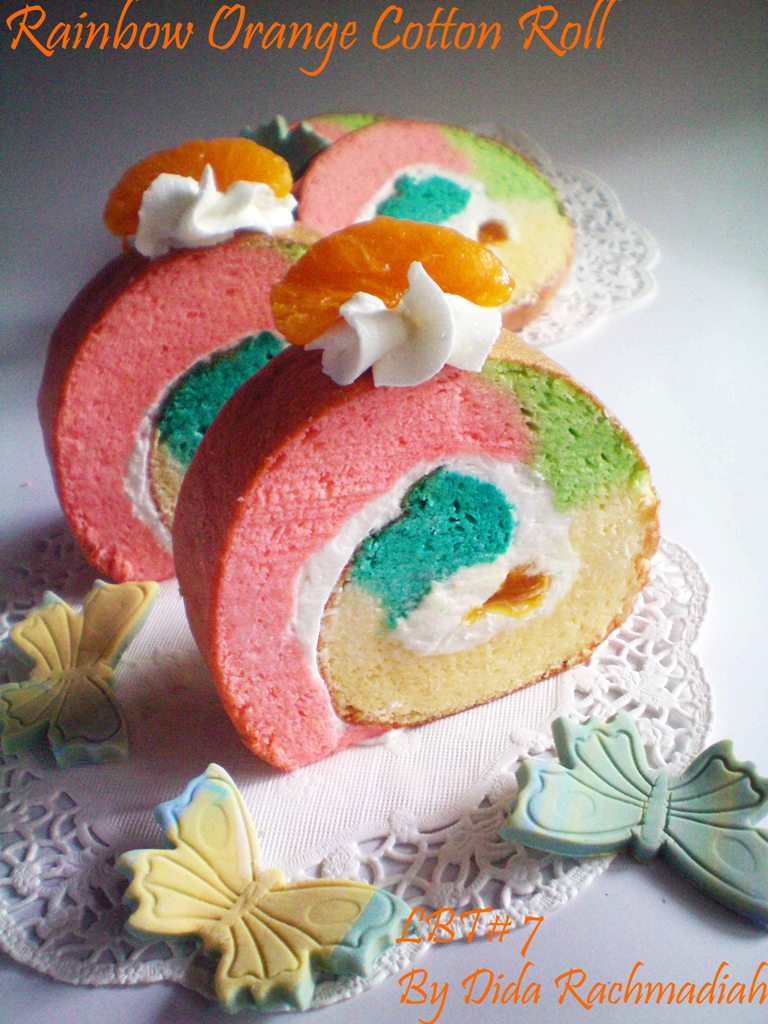Resep Orange Cake Ricke