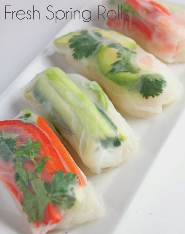 Fresh Spring Roll Recipe | Recipe by chelsa-bea.com #MyPicknSave #shop