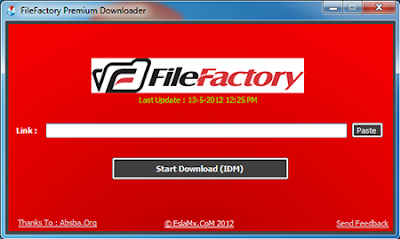 FileFactory Premium Downloader