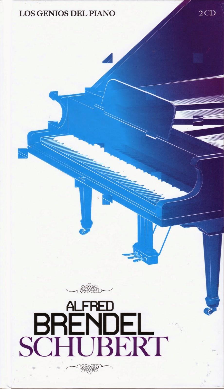 Imagen de Colección Los Genios del Piano-03-Alfred Brendel & Schubert