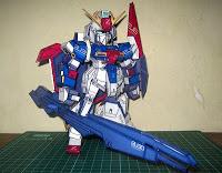 MSZ-006 Zeta Gundam Papercraft