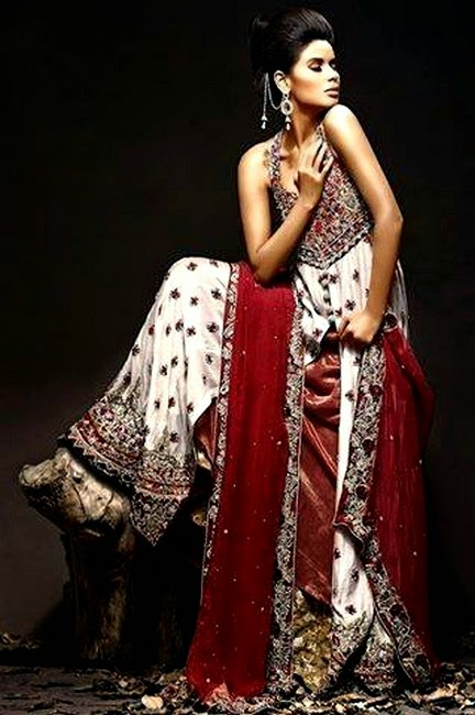 Hajra Hayat Designer Dress Collection 2014 For Wedding