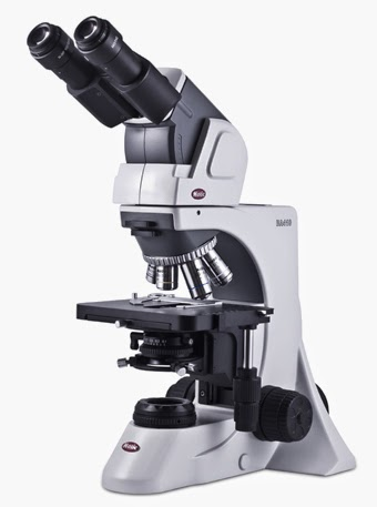 Hematology microscopes for viewing blood and bone marrow.