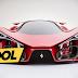 Conceito do super-carro Ferrari F80
