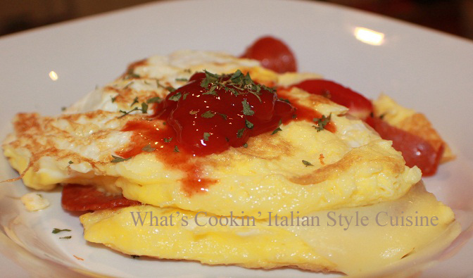 What's Cookin' Italian Style Cuisine: Baked Eggs, with Sauce ...