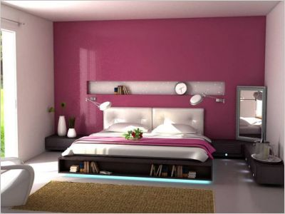 Abcr a studio for Decoration chambre rose