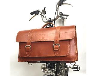 carradice leather folder cuero para brompton