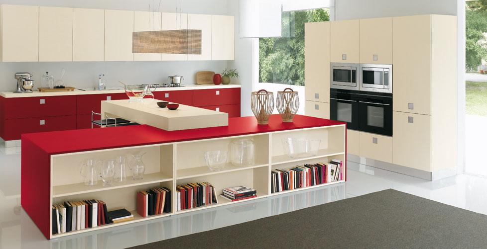 Muebles De Cocina Modernos Rojos – Sponey.com